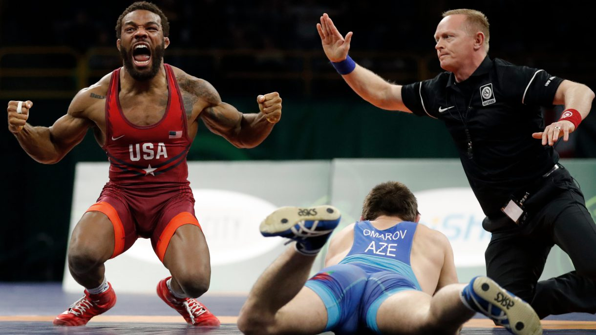 19ebec2c6da5 NEW YORK — Jordan Burroughs says he has rewatched almost every one of his  wrestling matches at least 15 times. That s more than 150 senior matches in  the ...