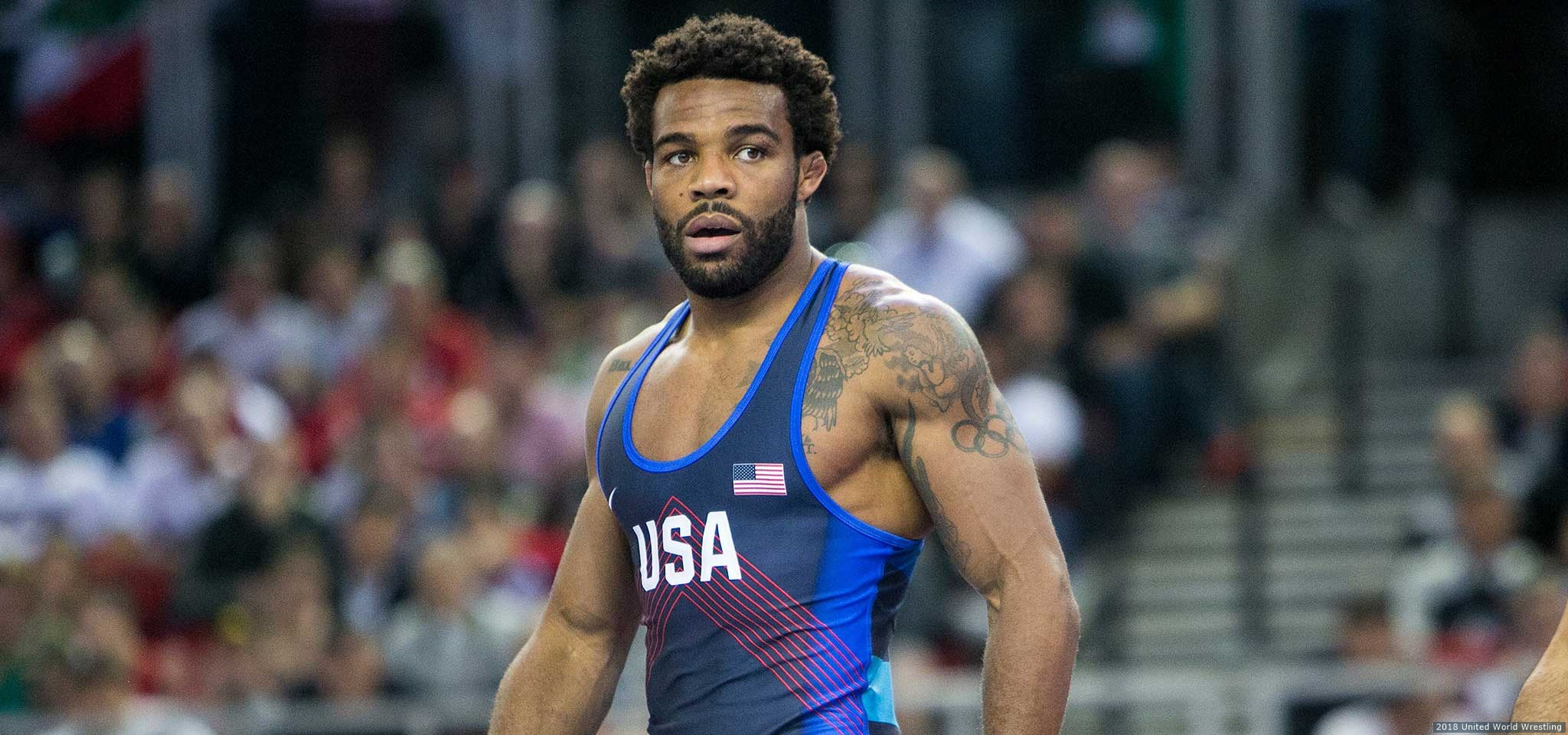 43e148f21fc Burroughs, 30, faced off against Italy's Frank Chamizo, the two-time world  champion and Olympic bronze medalist, for the third time this year in  Sunday's ...