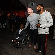 Zion Clark, Kyle Snyder and Joey Davis